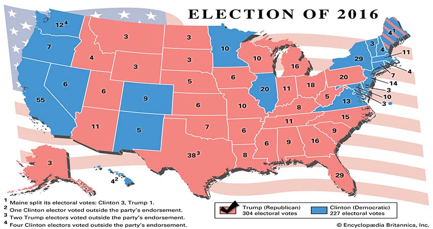 History of the United States presidential election